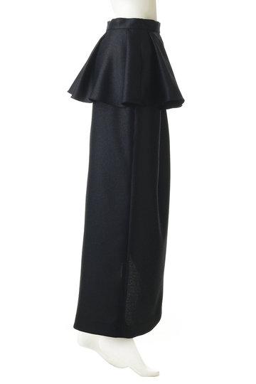 ボーメ/BAUMEのラッフルスリットスカート(アイボリー/31903-23-4016)