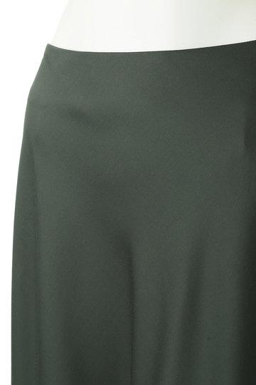 ボーメ/BAUMEのサテンフレアスカート(オリーブ/31903-23-4036)