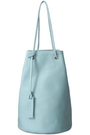 アナイ/ANAYIのレザー巾着BAG(グリーン/1019181816013010)