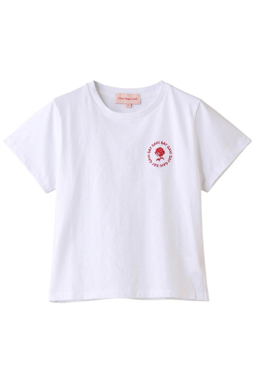メゾンスペシャル/MAISON SPECIALの【Lisa Says Gah】 Gah Tee Circle Tシャツ(WHT(ホワイト)/22202419910)