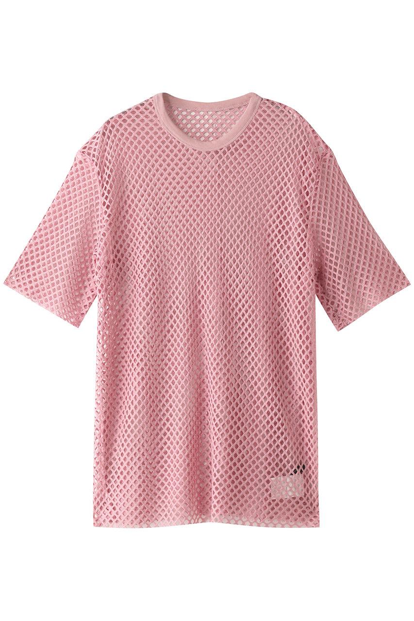 メゾンスペシャル/MAISON SPECIALのメッシュTシャツ(PNK(ピンク)/21211415124)