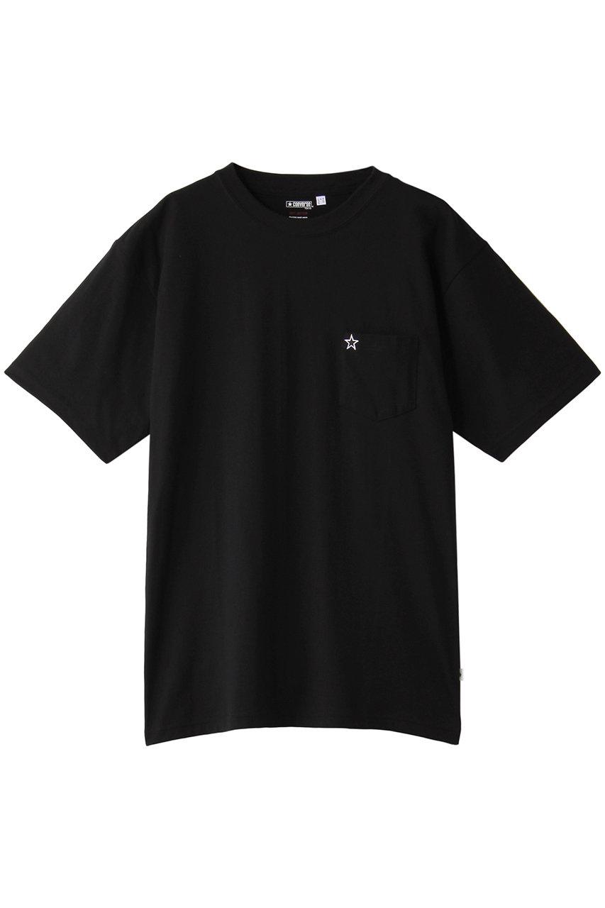 SALE 【40%OFF】 CONVERSE TOKYO コンバース トウキョウ 【UNISEX】★ワッペンポケTシャツ ブラック