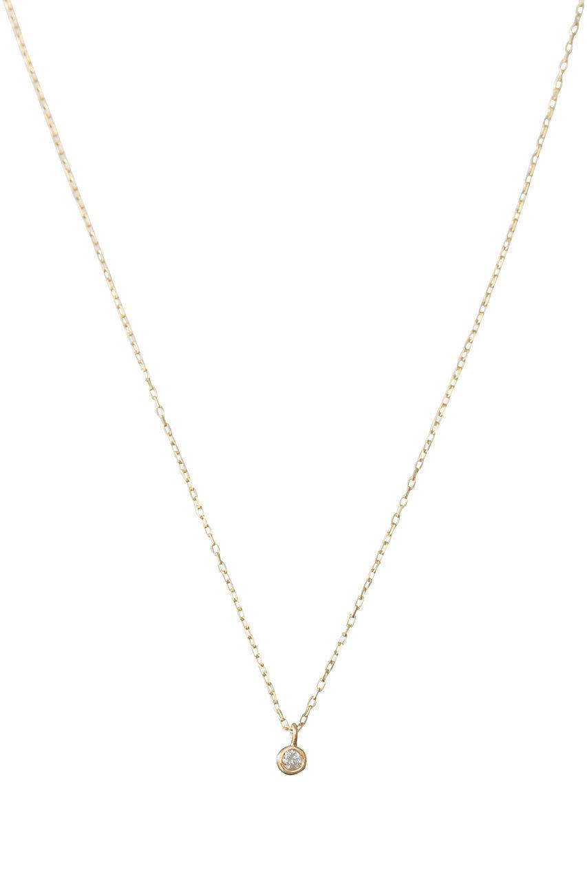 ル ボンボン/les bonbonのdiamond ネックレス(ゴールド/BB001)