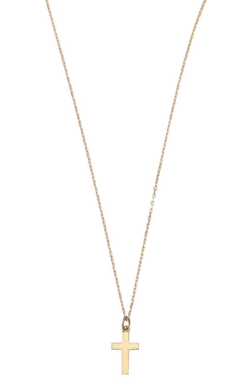 ル ボンボン/les bonbonのcross ネックレス(ゴールド/BOB30)