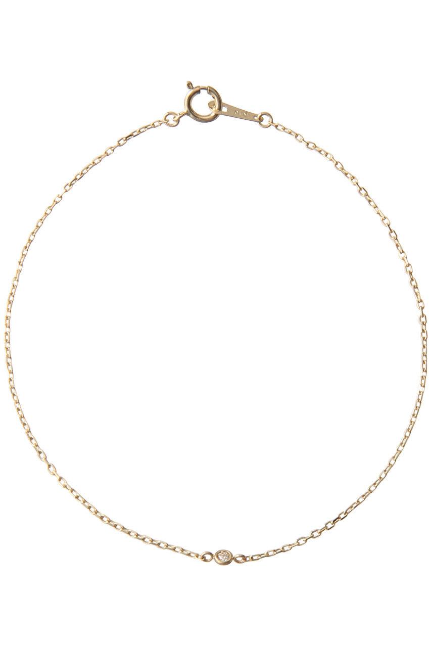 ル ボンボン/les bonbonのdia chain ブレスレット(ゴールド/BOB5)