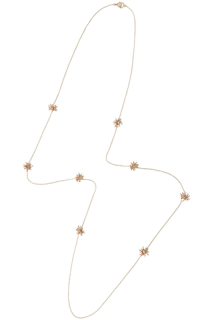 カオル/KAORUの【受注生産】STARDUST K10 ピンクゴールド ロングネックレス(ゴールド/NK10YG-740-L-K10-K10)