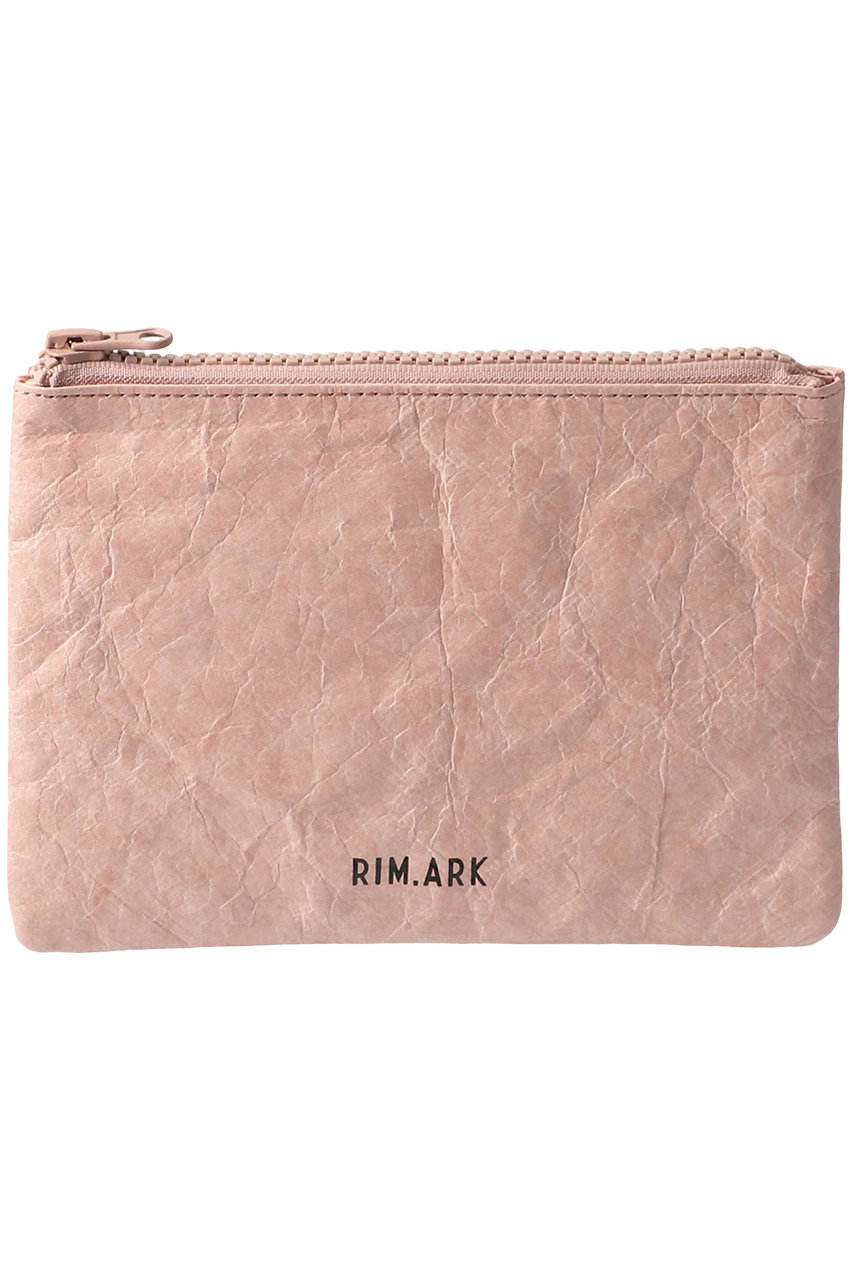 RIM. ARK リムアーク Paper like pouch/ポーチ ピンク