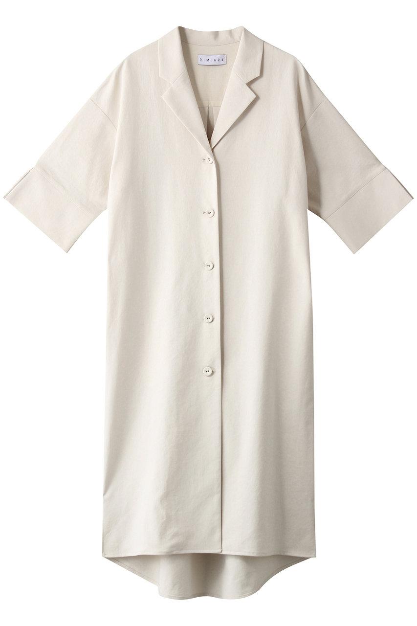 リムアーク/RIM.ARKのI line shirt JK/ジャケット(ホワイト/460ESL30-0810)