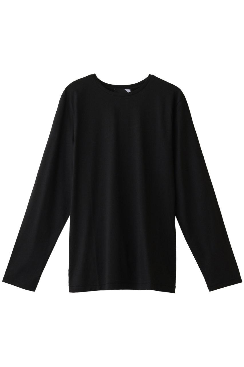 エイトン/ATONのSUVIN 60/2 パーフェクトロングスリーブTシャツ(ブラック/KKAGIM0805/KKAGIW0805)