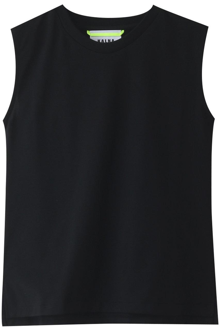 カルナ/KALNAのウルティマノースリーブカットソー(ブラック/1A11203)