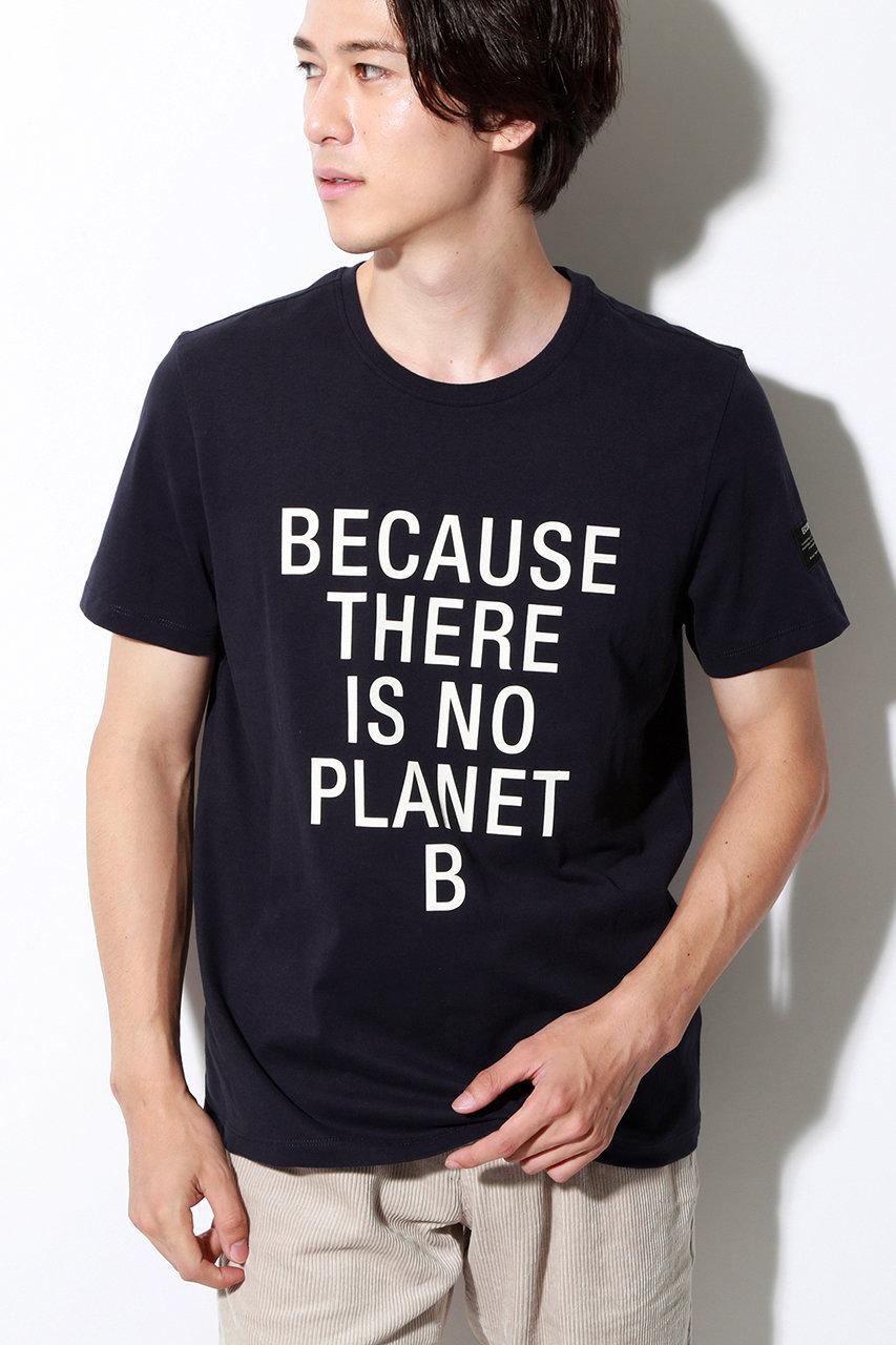エコアルフ/ECOALFの【MEN】BECAUSE クラシック Tシャツ / NATAL CLASSIC BECAUSE T-SHIRT(ネイビー/41P02471)