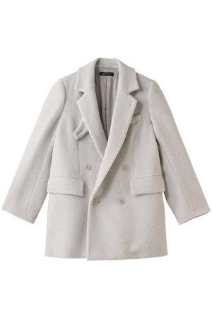 シャギーダブルブレストジャケット