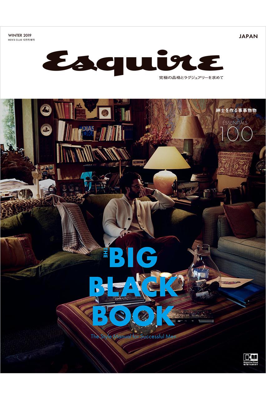 ハーストフジンガホウシャ/ハースト婦人画報社の【送料無料】Esquire The Big Black Book WINTER 2019(2019/11/25発売)(-/MEN'S CLUB1月号増刊 Esquire)